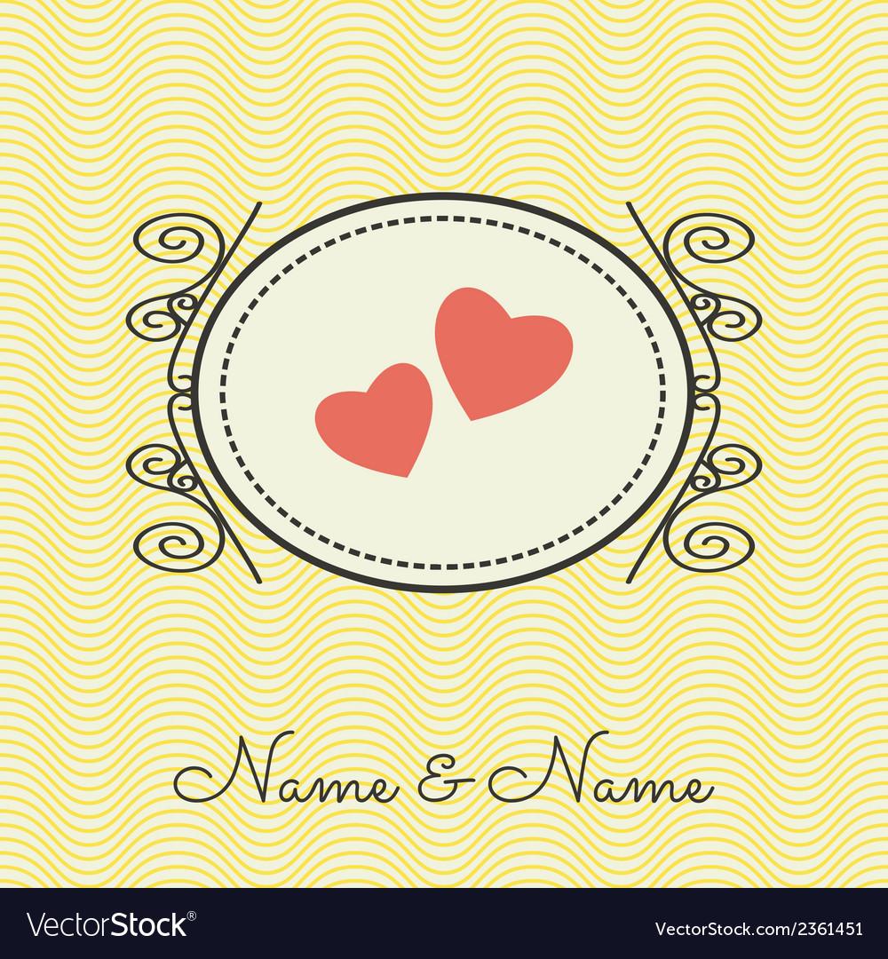 Wedding cards3 vector | Price: 1 Credit (USD $1)