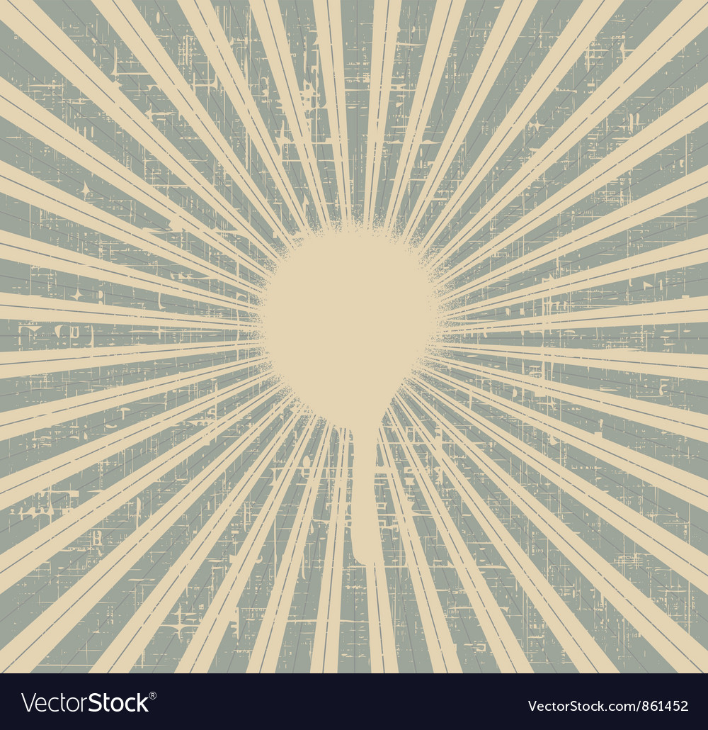 Grunge rays background vector   Price: 1 Credit (USD $1)