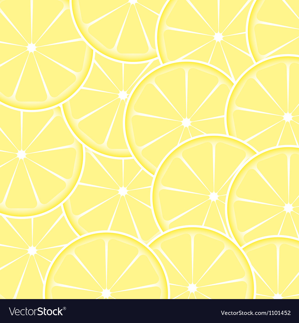 Lemon fruit abstract background vector | Price: 1 Credit (USD $1)