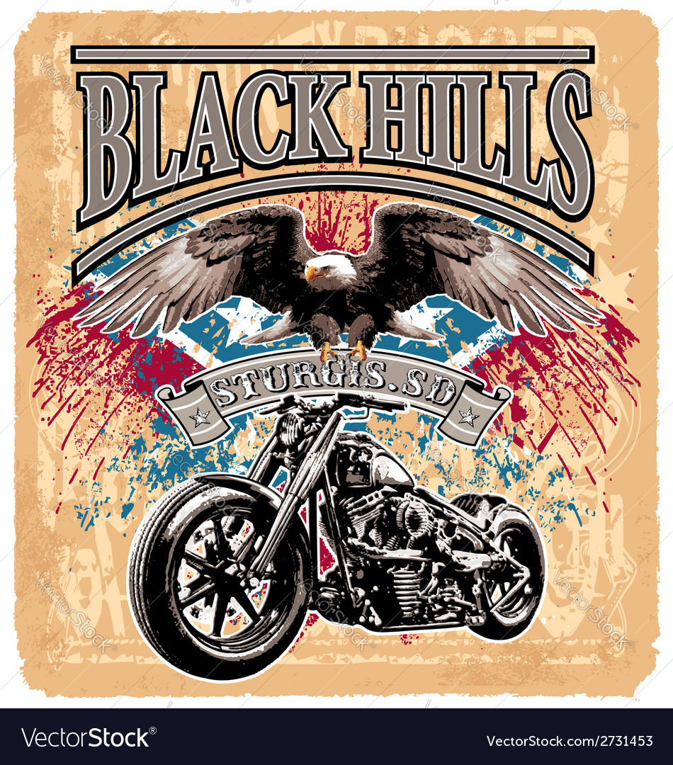 Blackhills rider vector | Price: 1 Credit (USD $1)