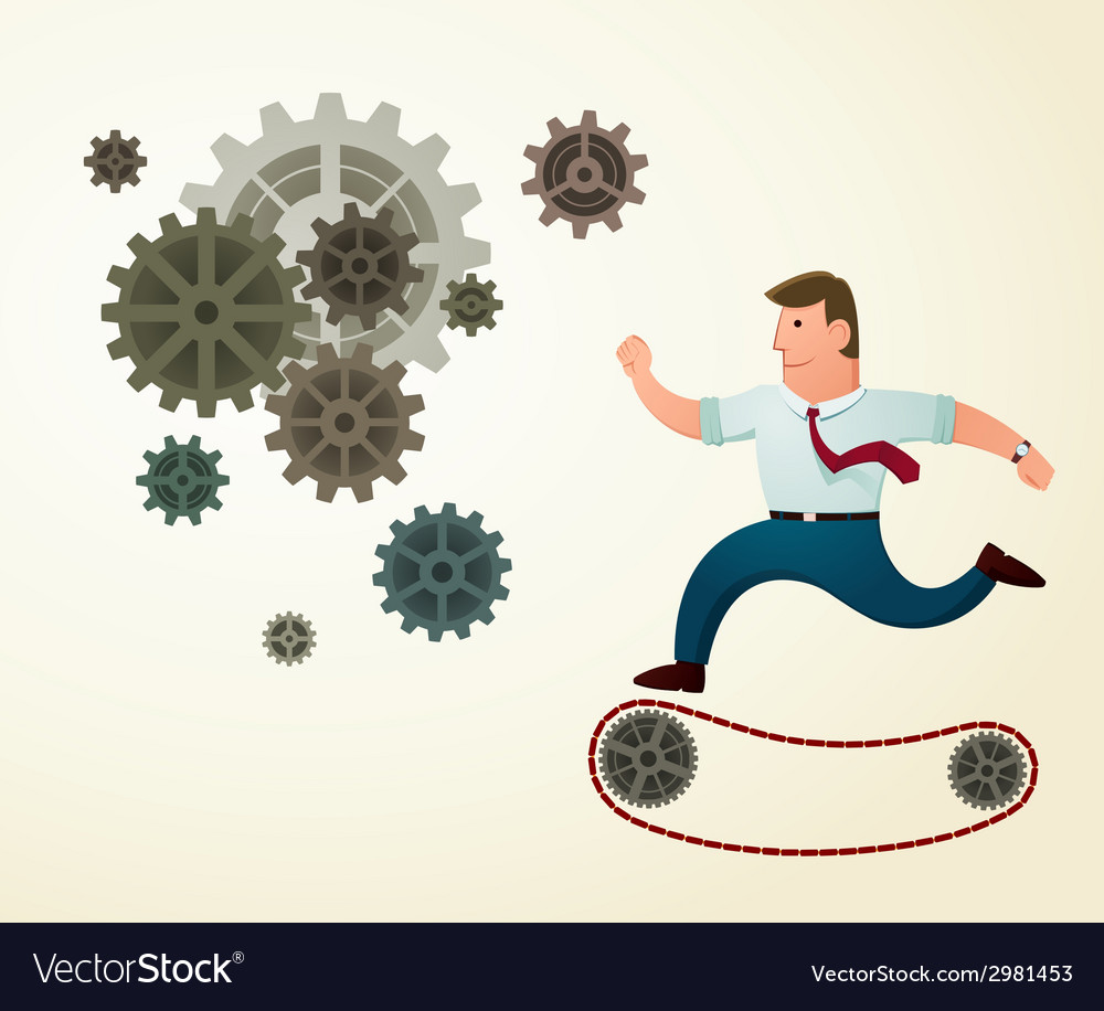 Dedicated and hardworker vector | Price: 1 Credit (USD $1)