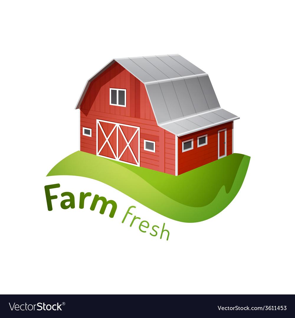 Farm icon vector | Price: 1 Credit (USD $1)