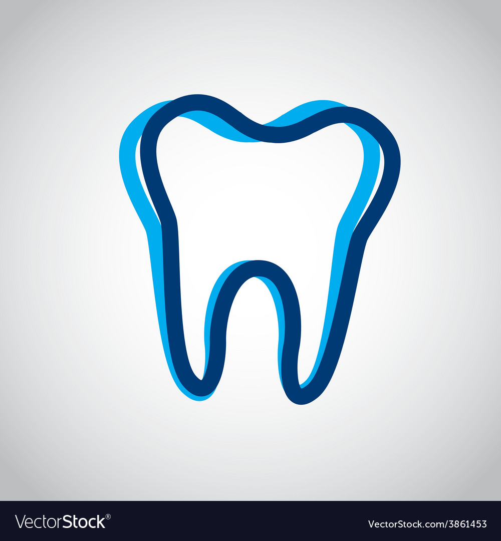 Tooth icon vector   Price: 1 Credit (USD $1)
