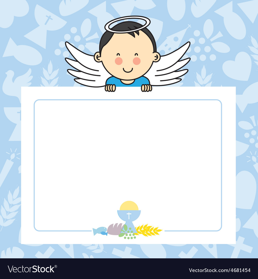 Baby boy with wings vector | Price: 1 Credit (USD $1)