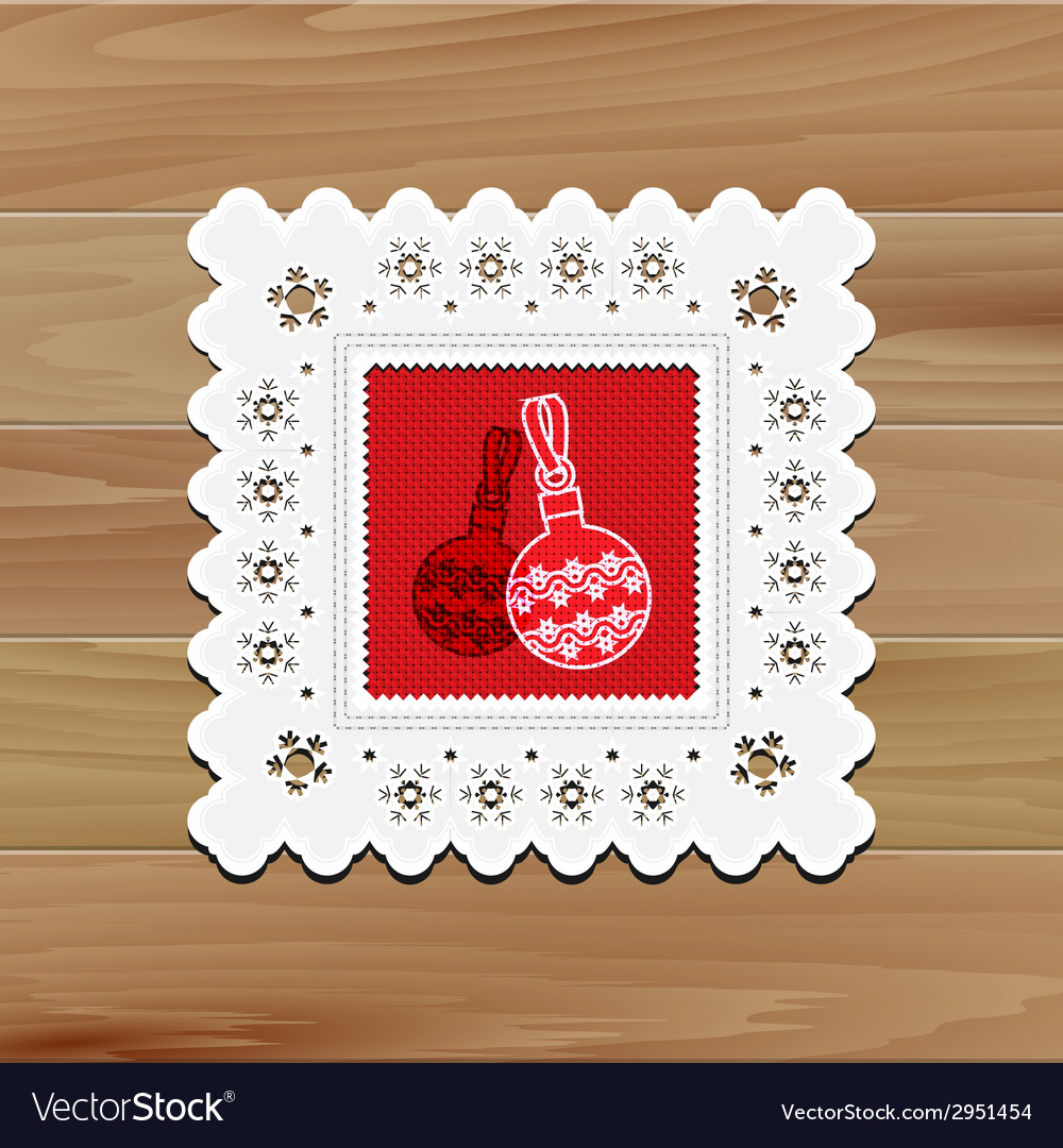 Christmas dinner table vector | Price: 1 Credit (USD $1)