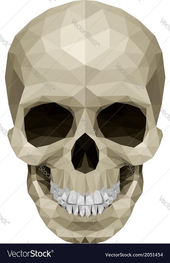 Crystul skull vector | Price: 1 Credit (USD $1)