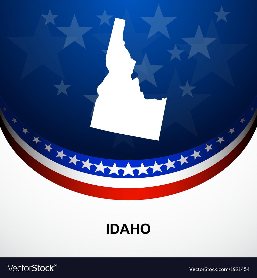 Idaho vector | Price: 1 Credit (USD $1)