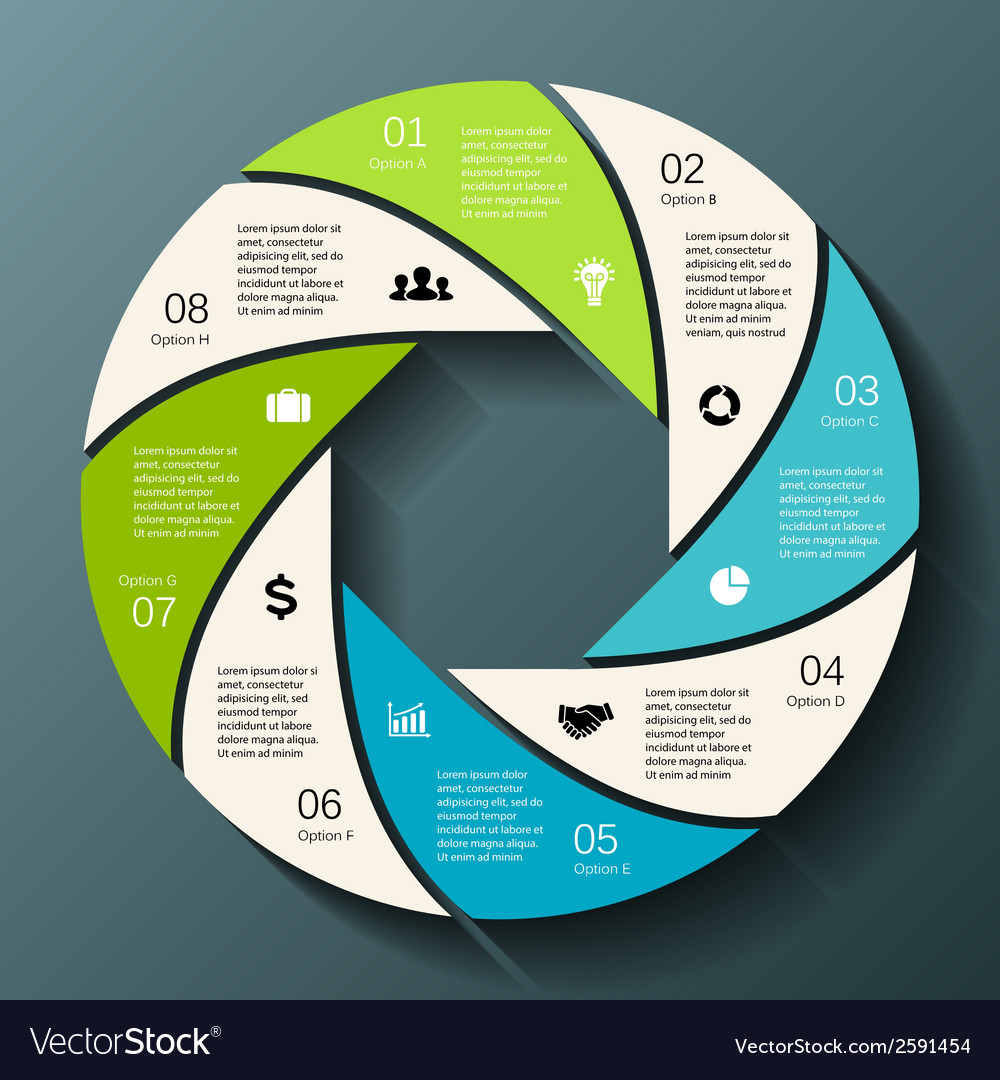 Modern info graphic for business project vector   Price: 1 Credit (USD $1)