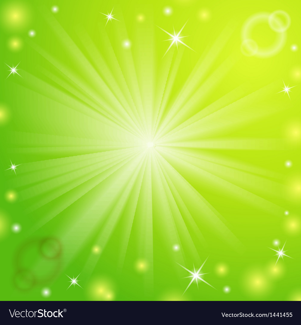 Abstract magic light green background vector   Price: 1 Credit (USD $1)
