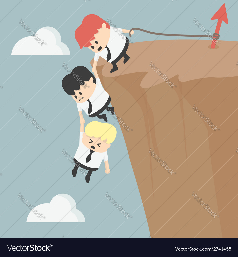 Business team work for success vector | Price: 1 Credit (USD $1)