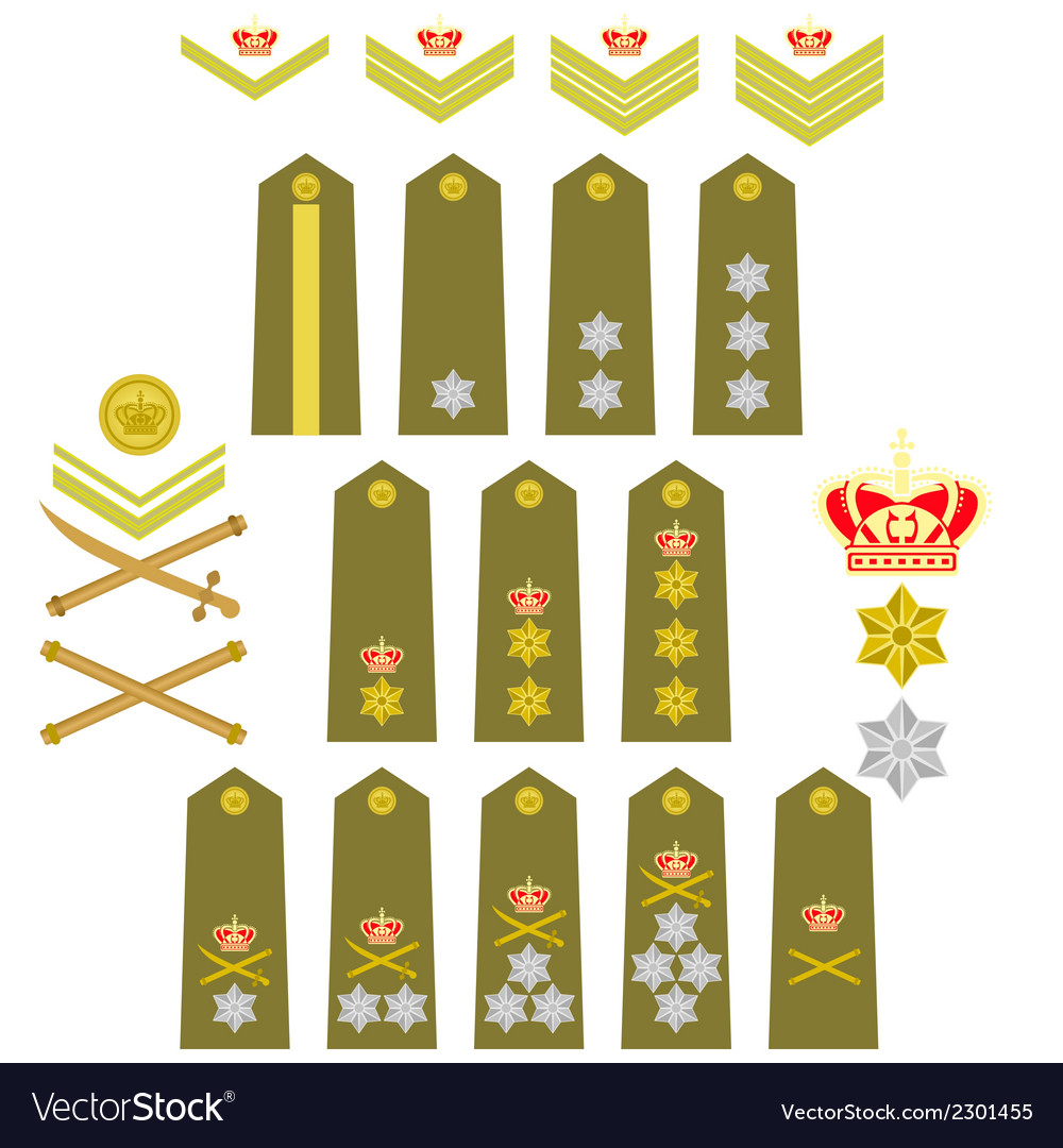 Insignia of the royal greek army vector | Price: 1 Credit (USD $1)