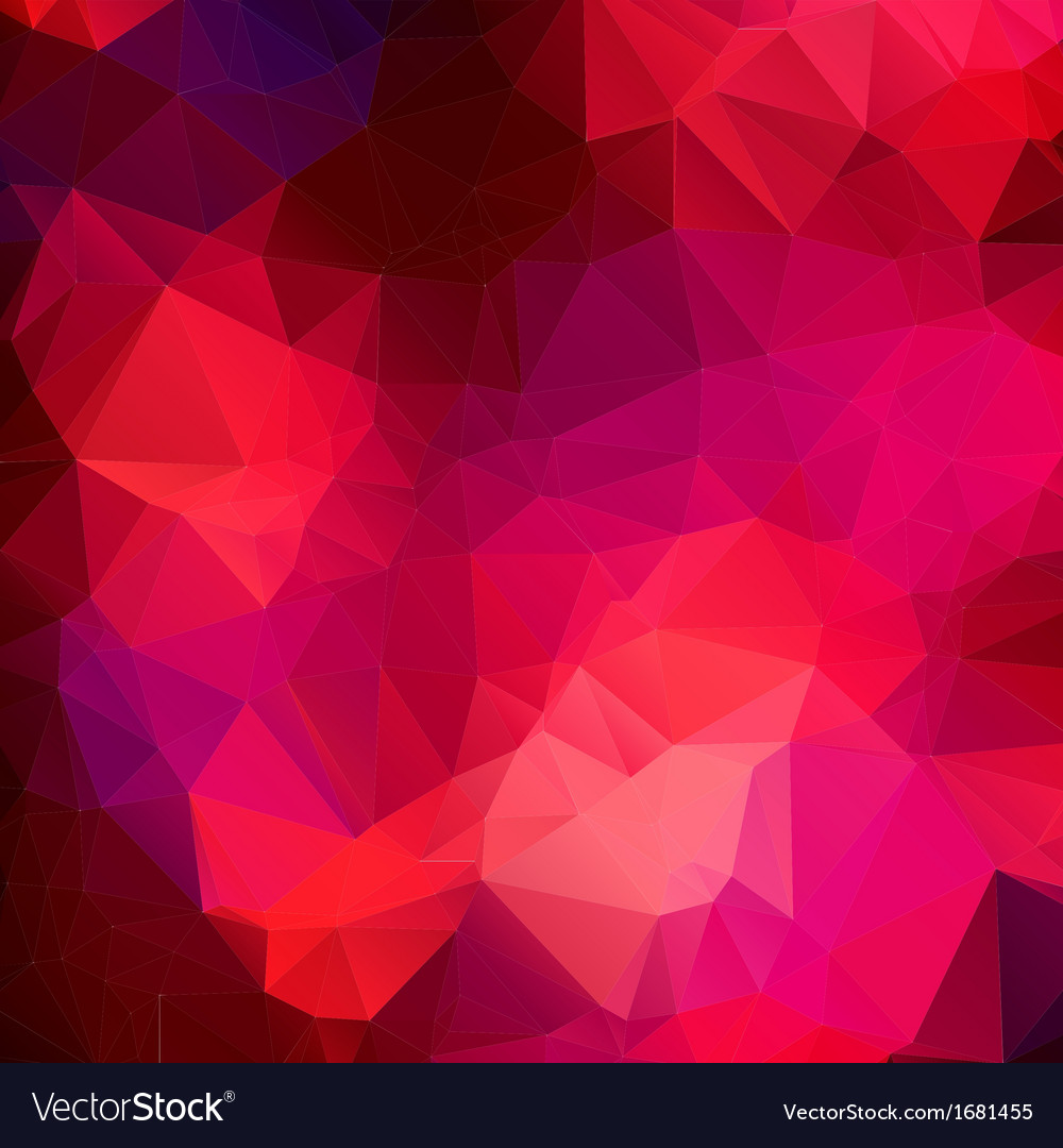 Pink purple abstract background polygon vector | Price: 1 Credit (USD $1)