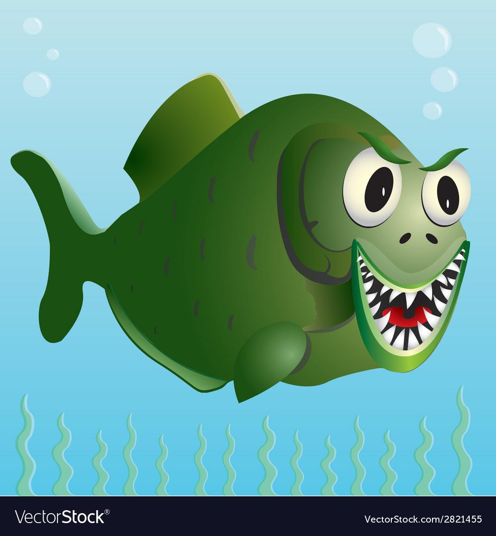 Piranha vector | Price: 1 Credit (USD $1)