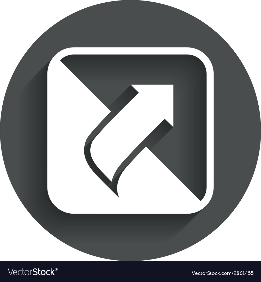 Turn page sign icon peel back sheet corner vector   Price: 1 Credit (USD $1)