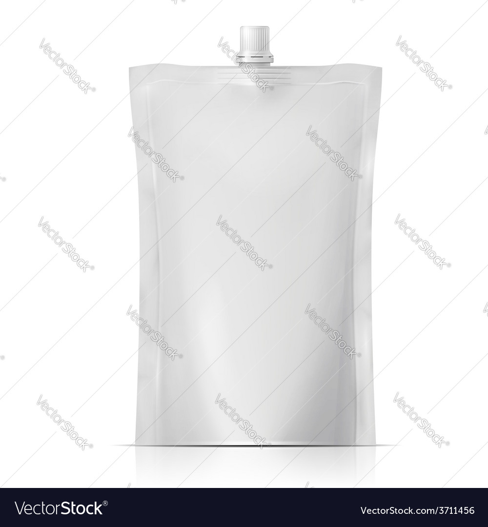 Blank spouted pouch vector | Price: 1 Credit (USD $1)