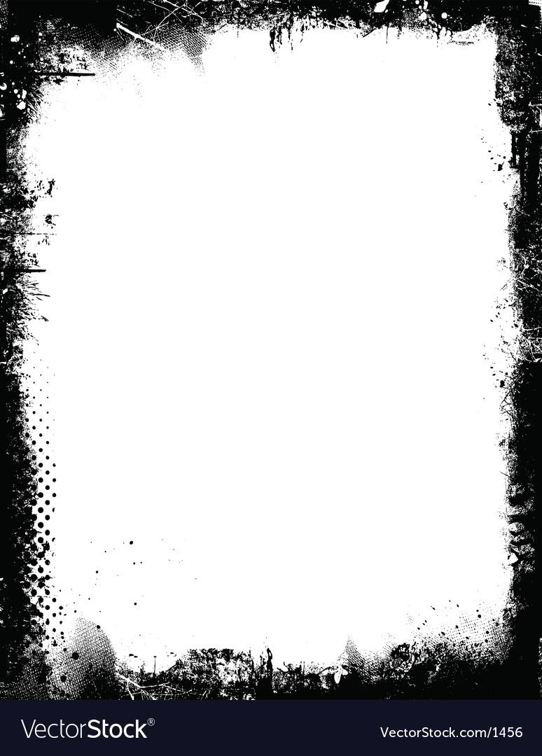 Grunge border vector | Price: 1 Credit (USD $1)