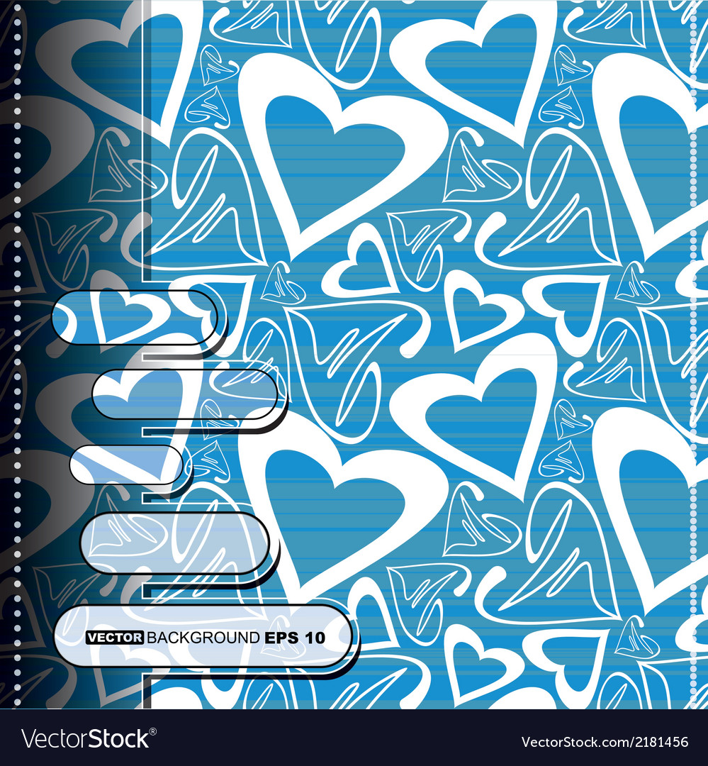 Valentines day card vector | Price: 1 Credit (USD $1)