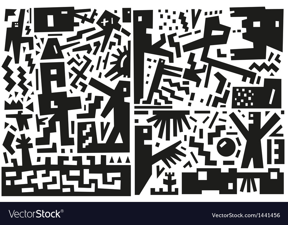 War - abstract vector | Price: 1 Credit (USD $1)