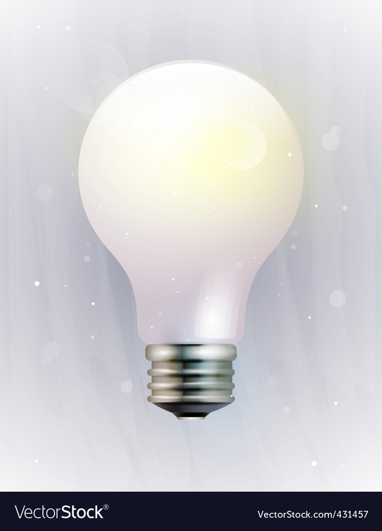 Electric bulb vector | Price: 3 Credit (USD $3)