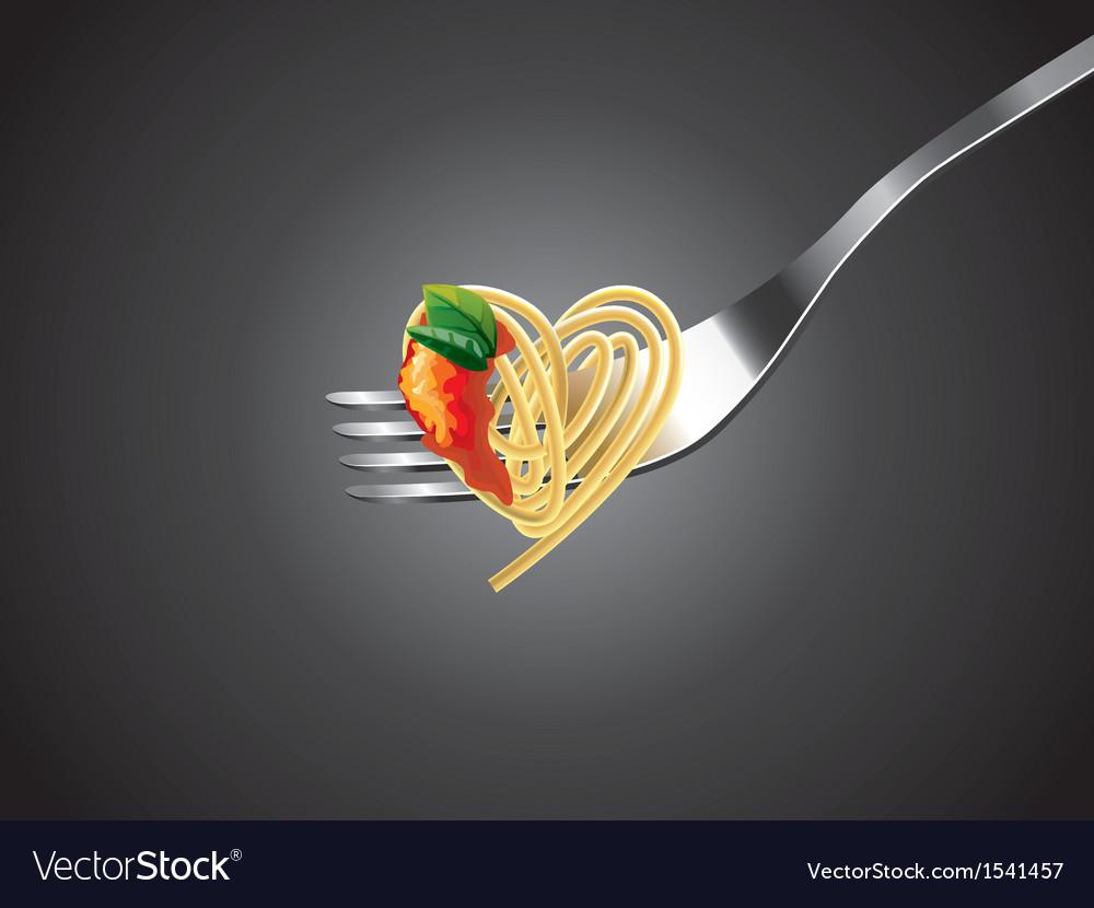 Spaghetti vector | Price: 1 Credit (USD $1)