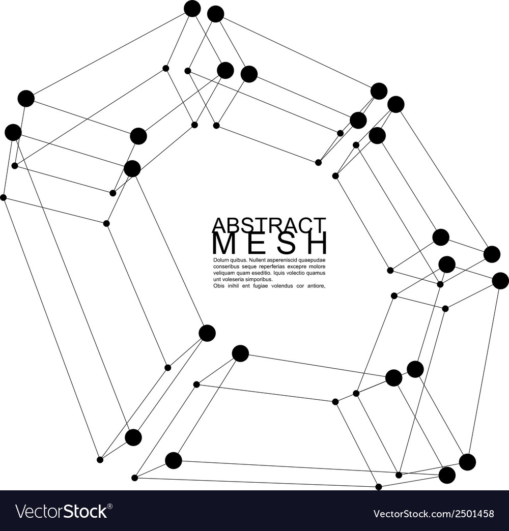 Abstract 3d mesh background clear eps 8 vector | Price: 1 Credit (USD $1)