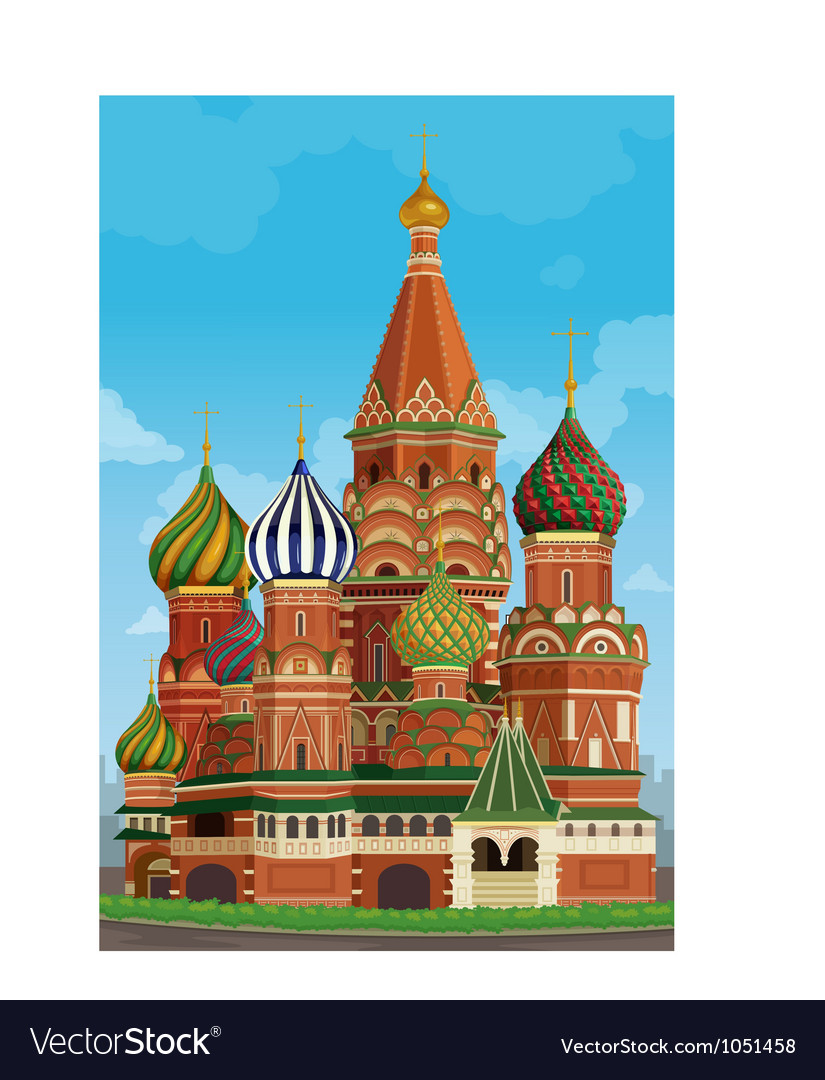 Decorative church building vector | Price: 3 Credit (USD $3)