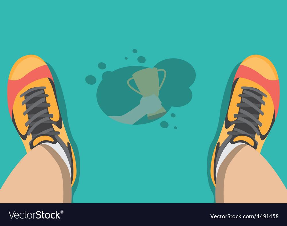 Sweat on the floor vector   Price: 1 Credit (USD $1)