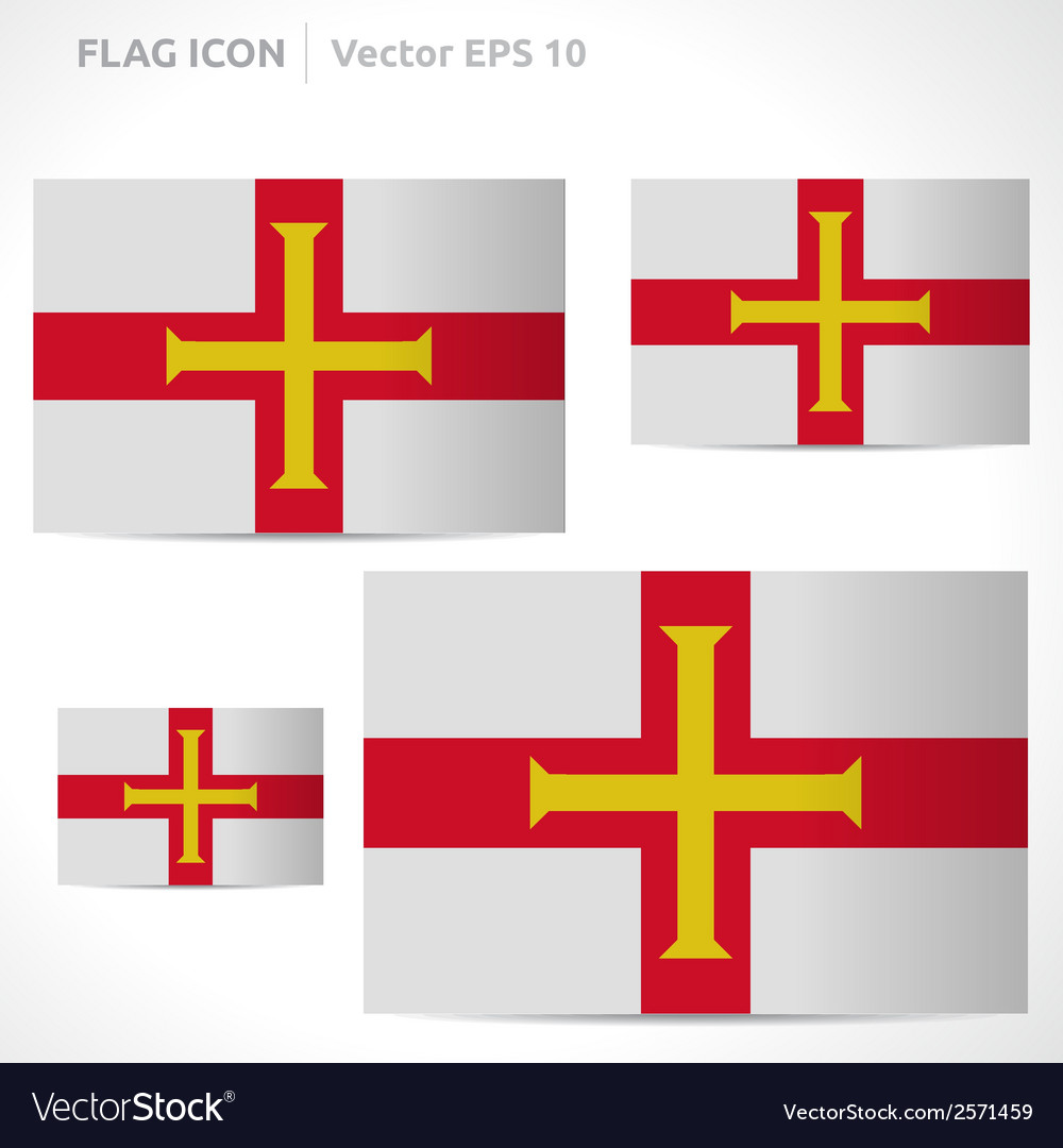 Guernsey flag template vector   Price: 1 Credit (USD $1)