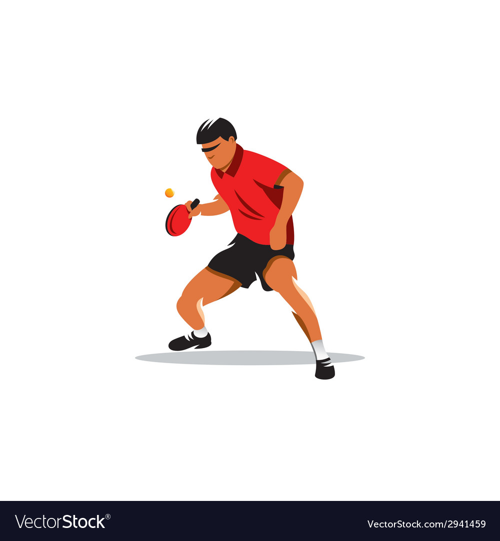 Table tennis sign vector | Price: 1 Credit (USD $1)