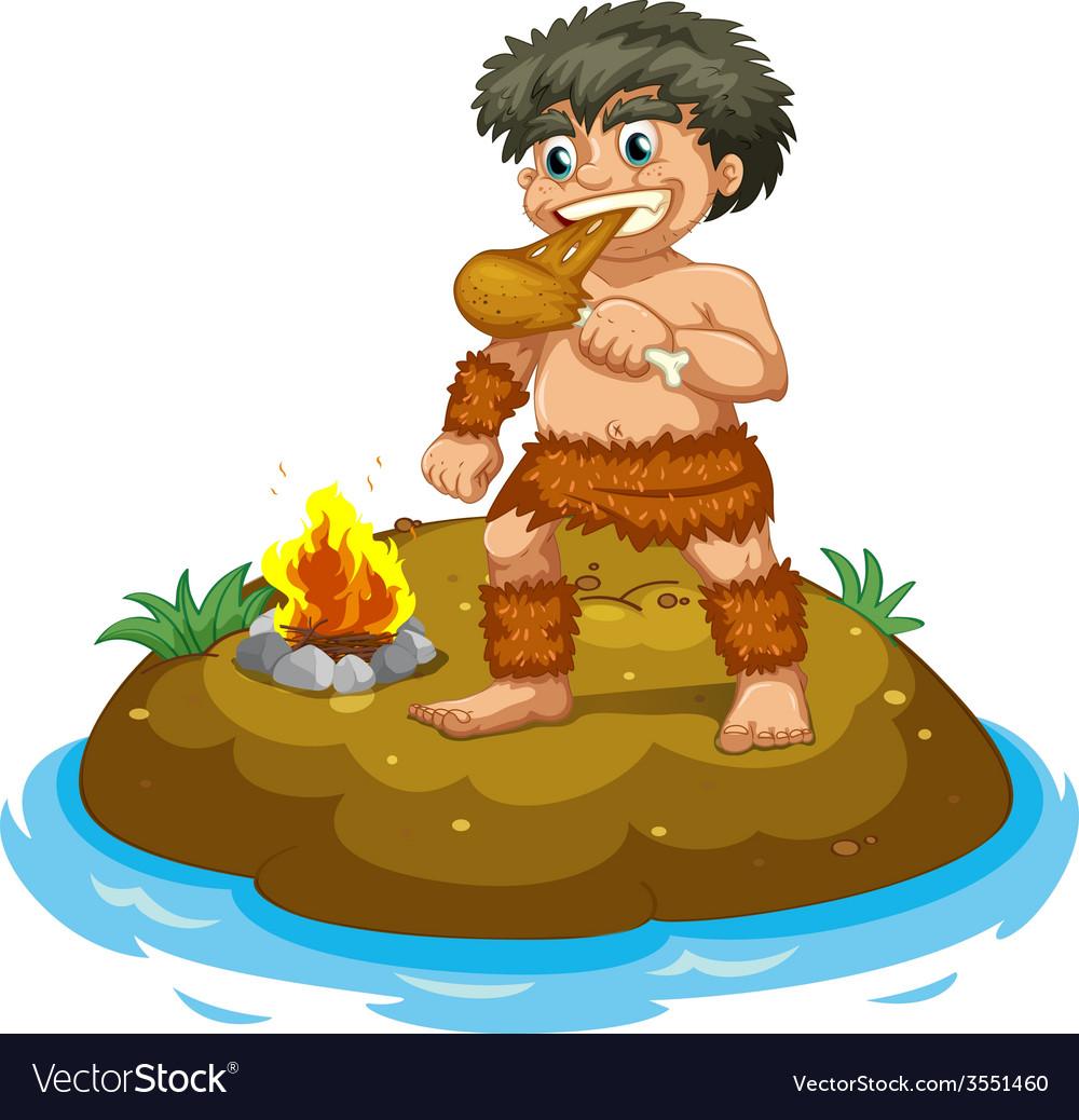 Caveman vector   Price: 3 Credit (USD $3)