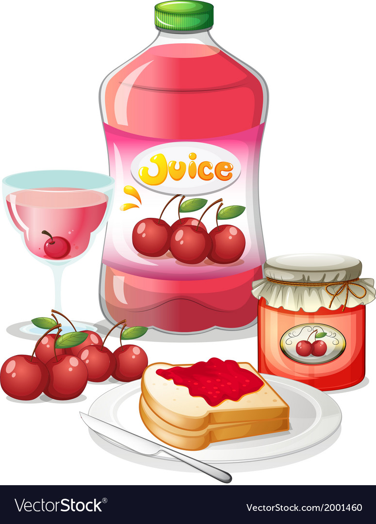 Cherry fruits and its uses vector | Price: 1 Credit (USD $1)