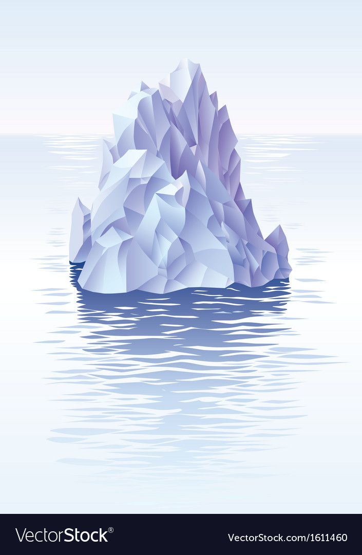 Iceberg vector | Price: 3 Credit (USD $3)