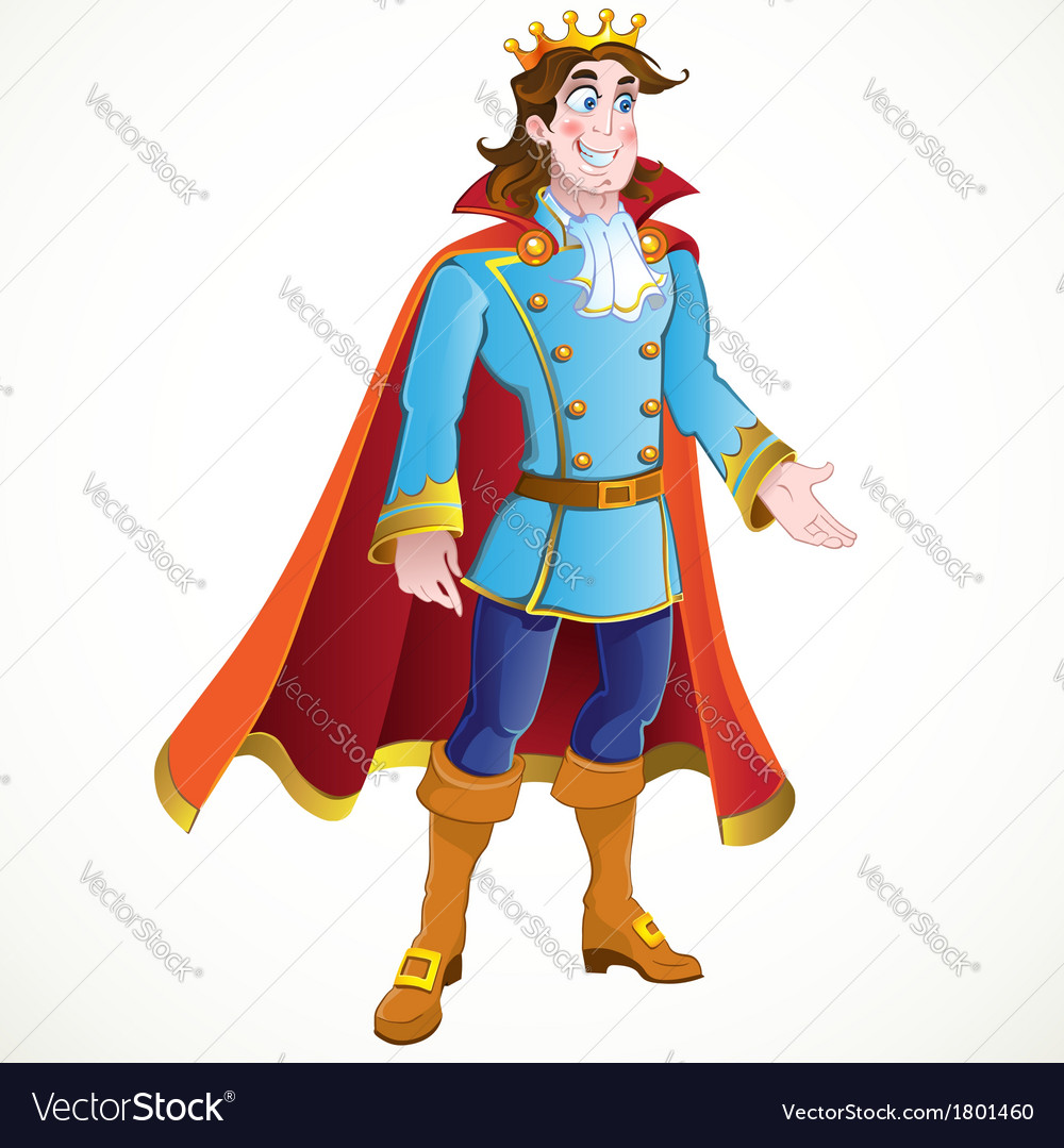 Prince charming vector | Price: 3 Credit (USD $3)