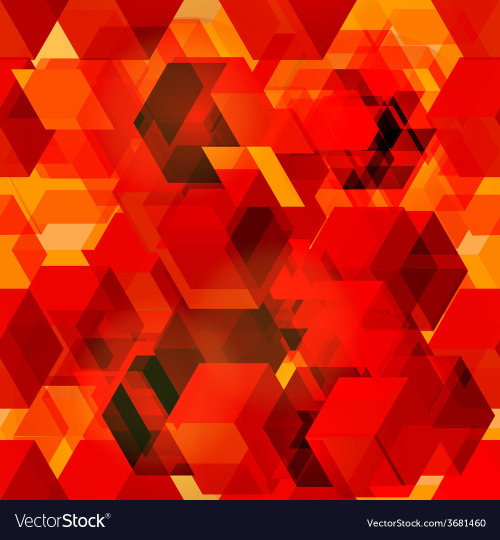 Seamless pattern of 3d cubes vector | Price: 1 Credit (USD $1)