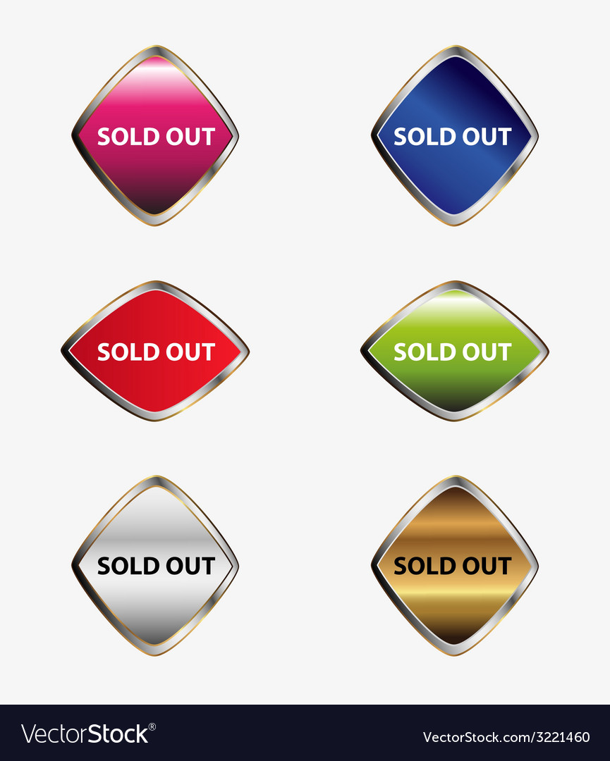Sold out signicon set vector   Price: 1 Credit (USD $1)
