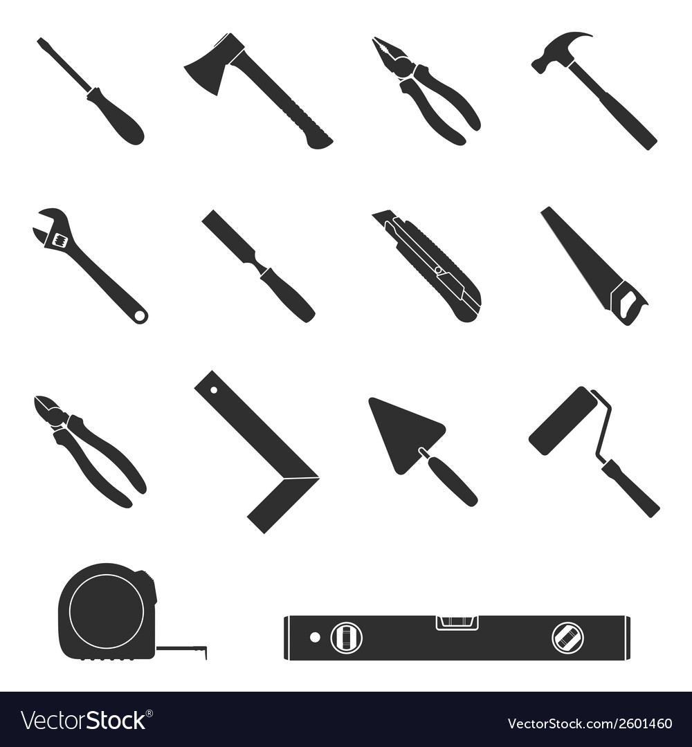 Tool icons 2 vector | Price: 1 Credit (USD $1)