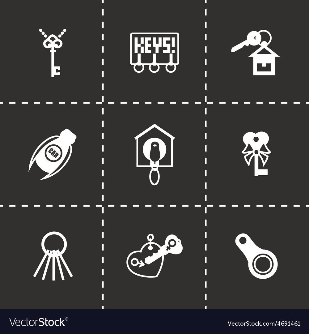 Key icon set vector | Price: 1 Credit (USD $1)