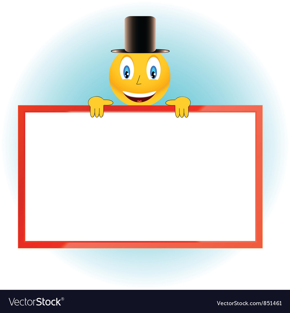 The smiling person and framework vector | Price: 1 Credit (USD $1)
