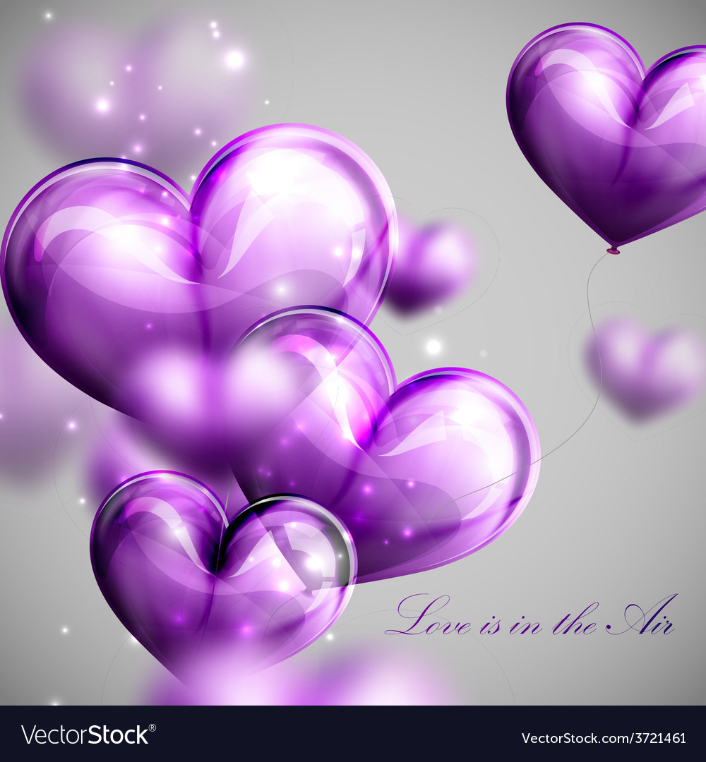 Valentines day or wedding background vector | Price: 1 Credit (USD $1)