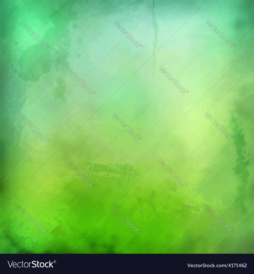 Decorative grunge green background vector | Price: 1 Credit (USD $1)