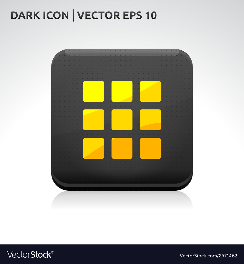 Enter home default icon gold vector | Price: 1 Credit (USD $1)