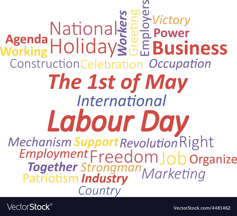 Labour day vector | Price: 1 Credit (USD $1)