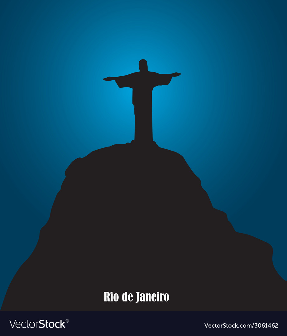 Monument in brazil vector | Price: 1 Credit (USD $1)