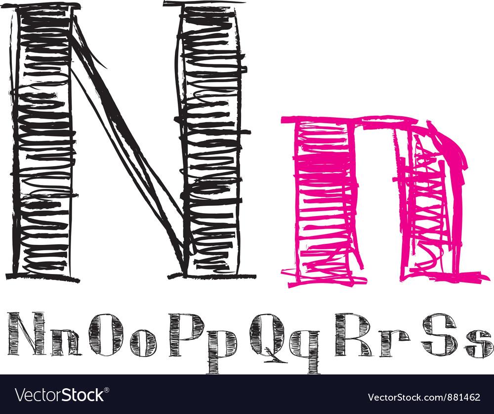Sketch alphabet new 03 vector   Price: 1 Credit (USD $1)