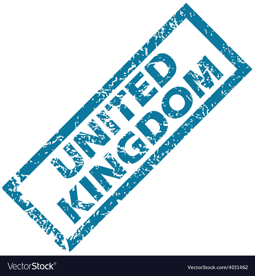 United kingdom rubber stamp vector | Price: 1 Credit (USD $1)