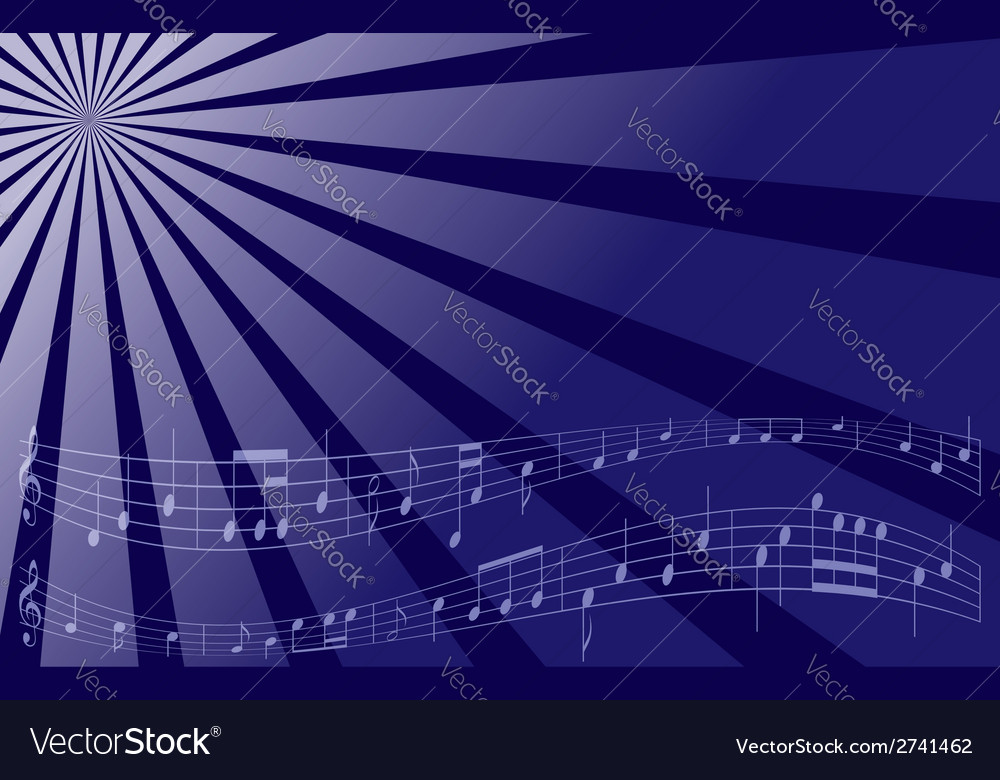 Violet music background vector | Price: 1 Credit (USD $1)