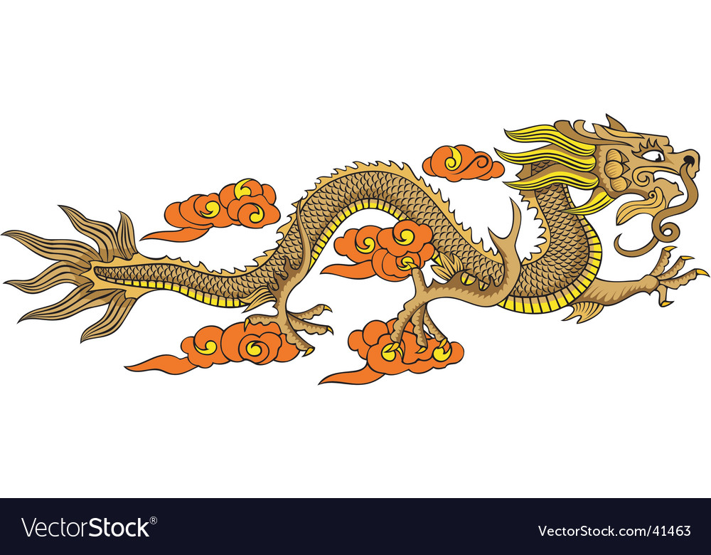 Chinese dragon vector   Price: 1 Credit (USD $1)