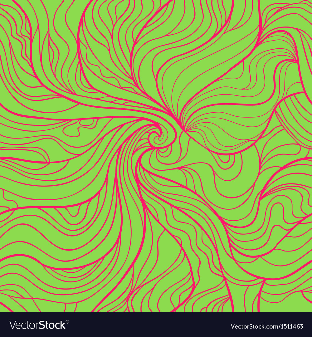 Colorful abstract seamless pattern in bright green vector | Price: 1 Credit (USD $1)
