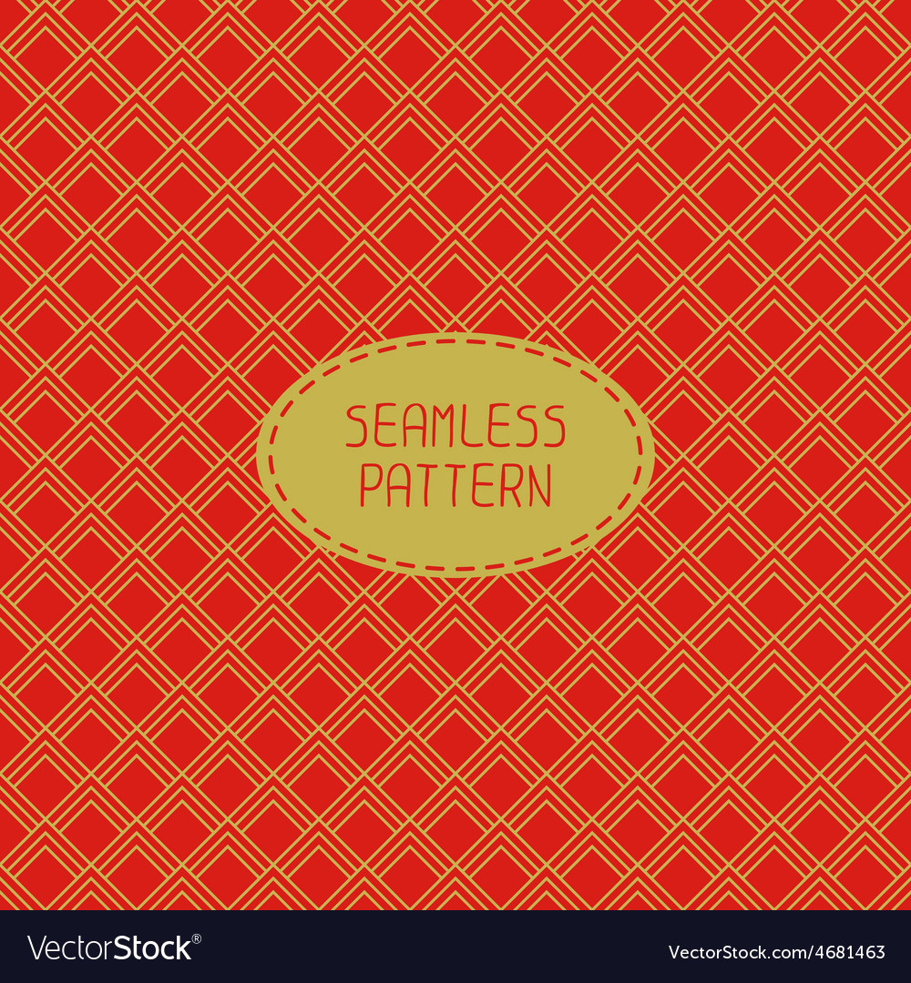 Geometric national chinese seamless pattern vector | Price: 1 Credit (USD $1)