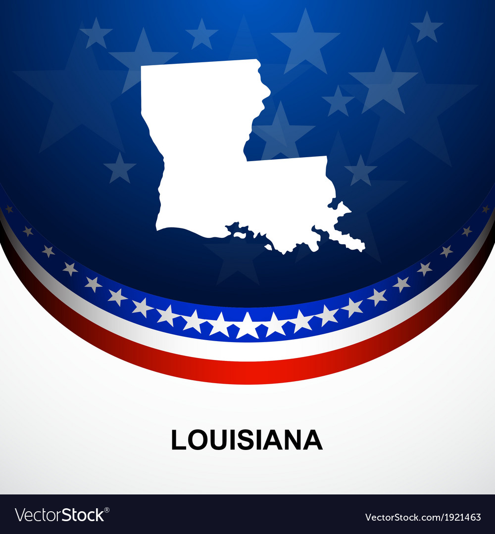 Louisiana vector | Price: 1 Credit (USD $1)